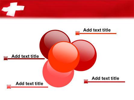 Flag of Switzerland PowerPoint Template Slide 10