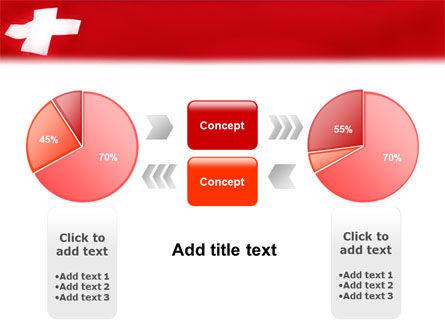 Flag of Switzerland PowerPoint Template Slide 11