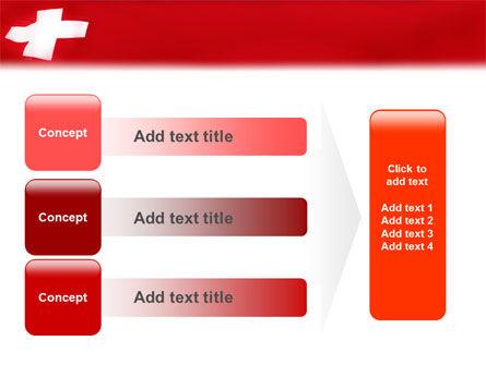 Flag of Switzerland PowerPoint Template Slide 12