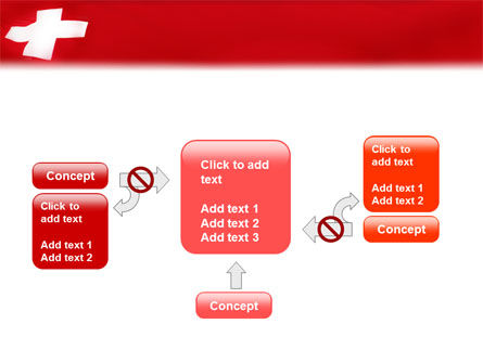 Flag of Switzerland PowerPoint Template Slide 13