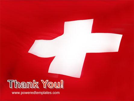 Flag of Switzerland PowerPoint Template Slide 20