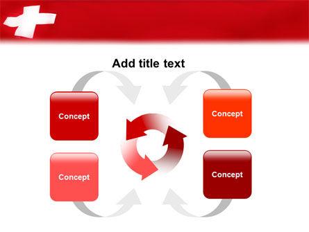 Flag of Switzerland PowerPoint Template Slide 6