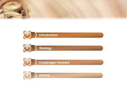 Storage PowerPoint Template, Slide 3, 02094, Utilities/Industrial — PoweredTemplate.com