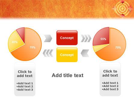 Target PowerPoint Template Slide 11