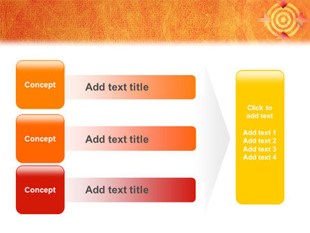 Target PowerPoint Template Slide 12