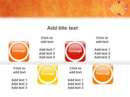 Target PowerPoint Template Slide 19