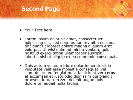 Target PowerPoint Template Slide 2