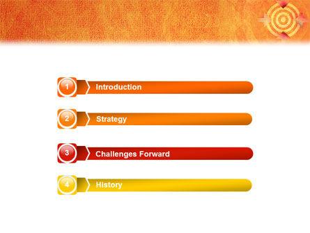 Target PowerPoint Template Slide 3