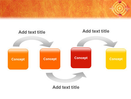 Target PowerPoint Template, Slide 4, 02098, Business Concepts — PoweredTemplate.com