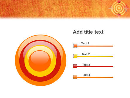 Target PowerPoint Template Slide 9