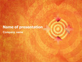 Business Concepts: Target PowerPoint Template #02098