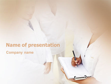 Medical: Well Being PowerPoint Template #02104