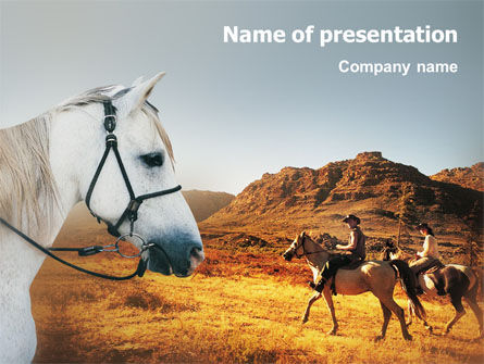 Riding PowerPoint Template