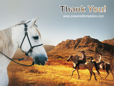 Riding PowerPoint Template Slide 20