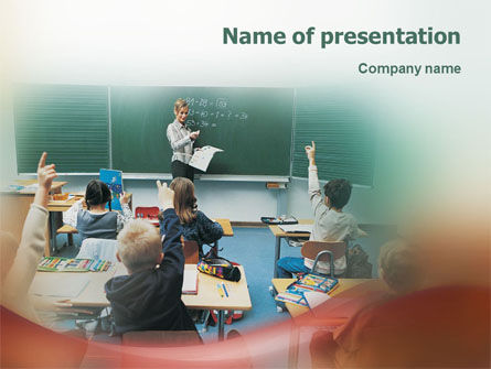 Education & Training: Templat PowerPoint Pendidikan Sekolah #02109