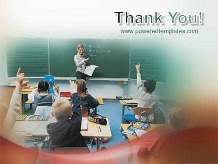 School Education PowerPoint Template Slide 20