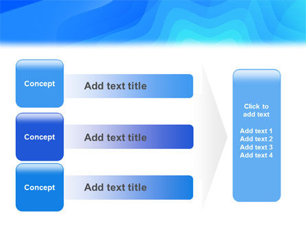 Aqua Colored PowerPoint Template Slide 12