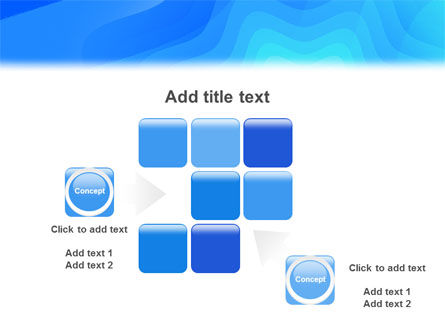 Aqua Colored PowerPoint Template Slide 16