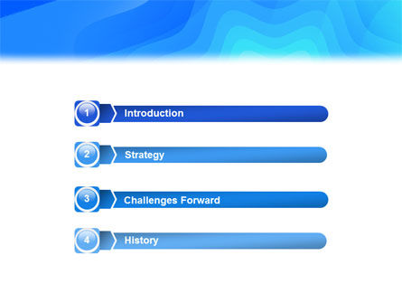 Aqua Colored PowerPoint Template Slide 3