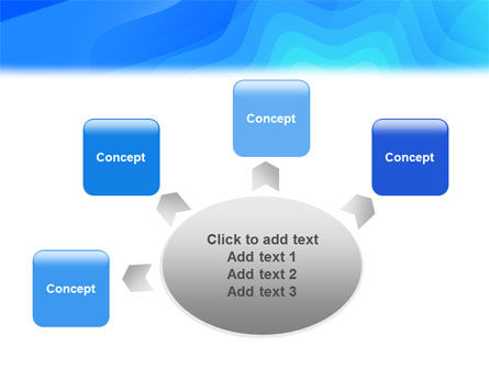 Aqua Colored PowerPoint Template Slide 7