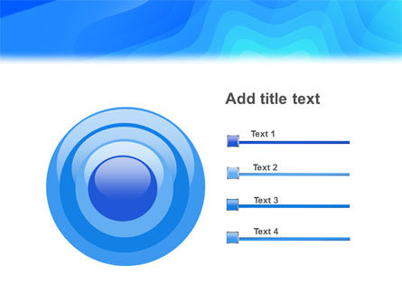 Aqua Colored PowerPoint Template Slide 9