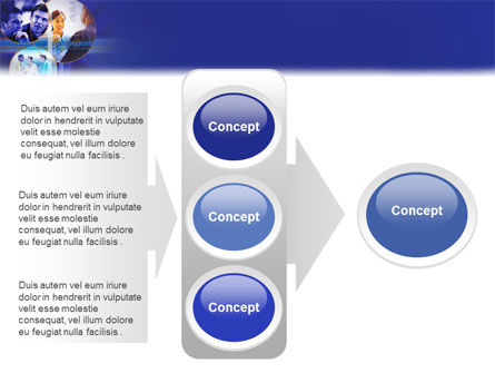 Business Relations In A Corporation PowerPoint Template Slide 11