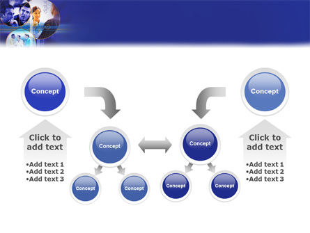Business Relations In A Corporation PowerPoint Template Slide 19