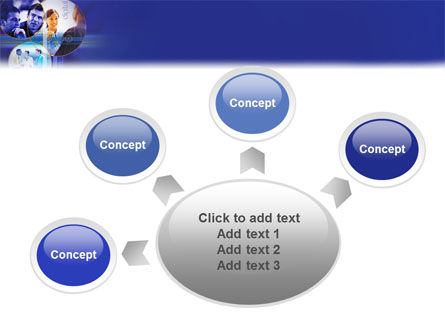 Business Relations In A Corporation PowerPoint Template Slide 7