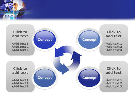 Business Relations In A Corporation PowerPoint Template Slide 9