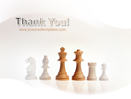 Main Chess Figures PowerPoint Template Slide 20