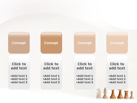 Main Chess Figures PowerPoint Template Slide 5