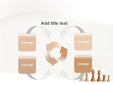 Main Chess Figures PowerPoint Template Slide 6