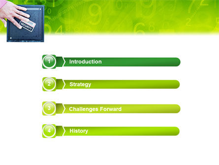 Security PowerPoint Template, Slide 3, 02121, Technology and Science — PoweredTemplate.com