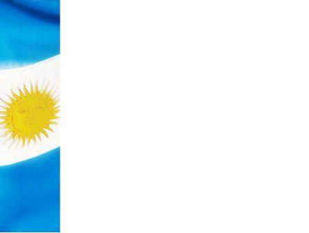 Flag of Argentine Republic PowerPoint Template, Slide 3, 02123, Flags/International — PoweredTemplate.com