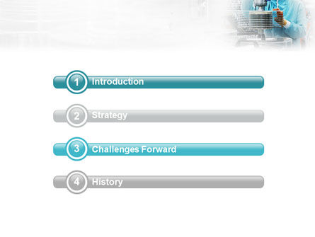 Manufacturing PowerPoint Template, Slide 3, 02127, Technology and Science — PoweredTemplate.com