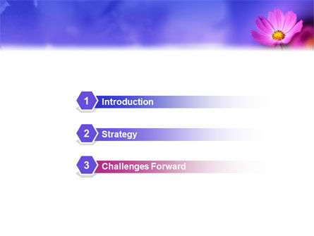 Flower PowerPoint Template Slide 3