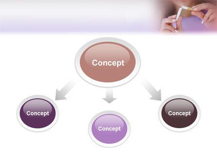 Quit Smoking PowerPoint Template, Slide 4, 02132, Medical — PoweredTemplate.com