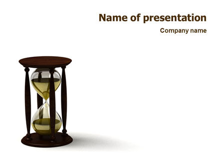 Sand-Glass PowerPoint Template