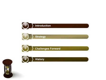 Sand-Glass PowerPoint Template, Slide 3, 02133, 3D — PoweredTemplate.com