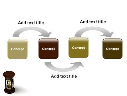Sand-Glass PowerPoint Template, Slide 4, 02133, 3D — PoweredTemplate.com