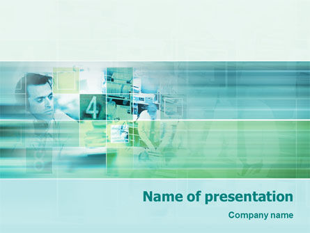 Business Process PowerPoint Template, 02134, Business — PoweredTemplate.com