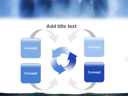 Waterfall PowerPoint Template Slide 6