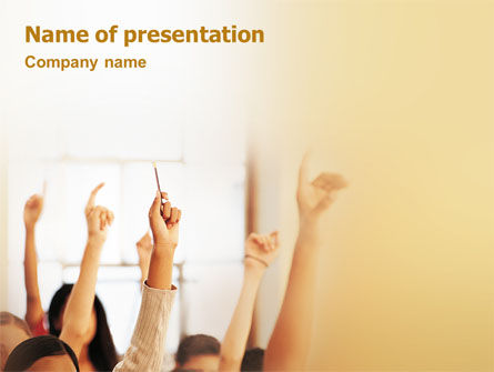 Education & Training: School Activity PowerPoint Template #02137