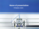 Careers/Industry: Automobile Industry PowerPoint Template #02139