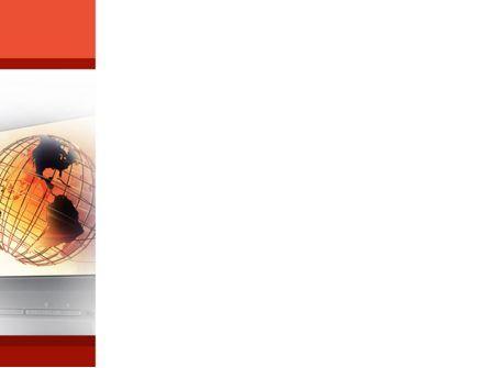 LCD Monitor PowerPoint Template, Slide 3, 02140, Global — PoweredTemplate.com
