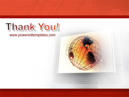 LCD Monitor PowerPoint Template Slide 20