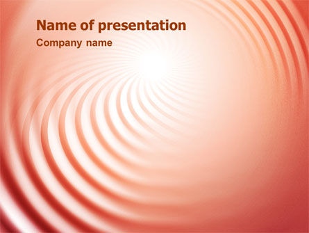 Abstract/Textures: Swirl PowerPoint Template #02141