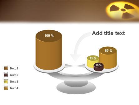 Radioactive Contamination PowerPoint Template Slide 10