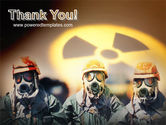 Radioactive Contamination PowerPoint Template#20