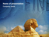 Flags/International: Sphinx PowerPoint Template #02144